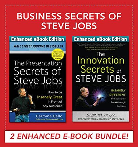 Business Secrets of Steve Jobs: Business Secrets of Steve Jobs: Presentation Secrets and Innovation secrets all in one book! (ENHANCED EBOOK BUNDLE) (English Edition) Ipod Bundle