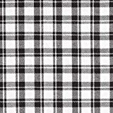 Fabulous Fabrics Hemdenflanell Holzfäller Karo – schwarz/Weiss — Meterware ab 0,5m — zum Nähen von Hemden, Kleidern und Röcken