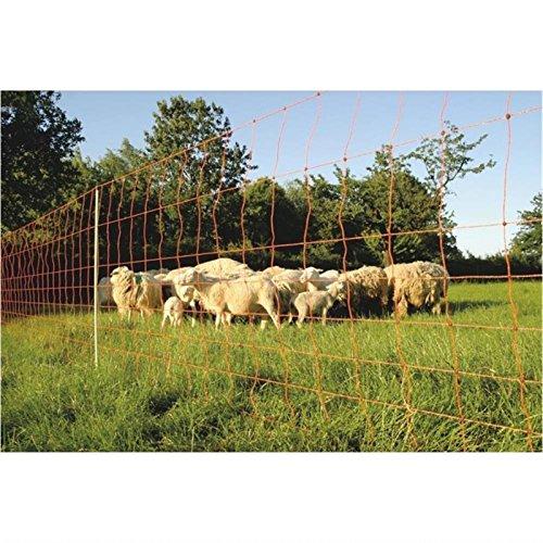 Göbel Clôture électrique Euro Filet Kombi 50 m Long 106 cm de haut 14 piquets simple pointe