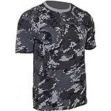 Mil-Tec Black Digital Pattern Camouflage T-Shirt Modern Army Camo Top