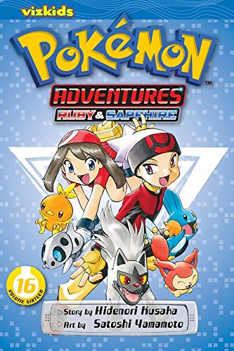 POKEMON ADV GN VOL 16 RUBY SAPPHIRE (C: 1-0-1) (Pokemon Adventures (Viz Paperback)) by Hidenori Kusaka (21-May-2013) Paperback