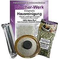 Räucherset 5-teilig | 10 cm Räucherschale + Räucherung Energetische Hausreinigung #81083 | XXL Großpackung Räucherwerk... preisvergleich bei billige-tabletten.eu
