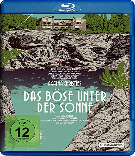 Das Böse unter der Sonne - Agatha Christie [Blu-ray]