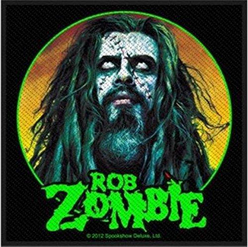 ROB Zombie-Zombie Face 10x 10cm (10,2x 10,2cm)
