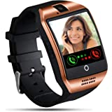 Tipmant Smartwatch Orologio Fitness Uomo Donna Bambini Smart Watch con SIM Card Slot Fotocamera Contapassi Cronometro Fitness