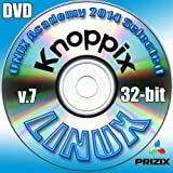 Picture Of Knoppix 7 Linux DVD 32-bit Full Installation Includes Complimentary UNIX Academy Evaluation Exam
