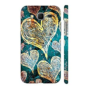Enthopia Designer Hardshell Case Love Is In The Air Back Cover for Samsung Galaxy Core Prime