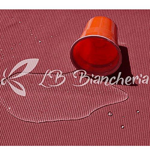 R.P. Copridivano ANTIMACCHIA Elasticizzato, Traspirante e antipiling - 3 POSTI - Bordeaux