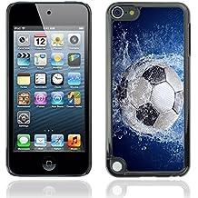 Graphic4You Deportivo de Fútbol Soccer Diseño Carcasa Funda Rigida para Apple iPod Touch 5th Generation 5G