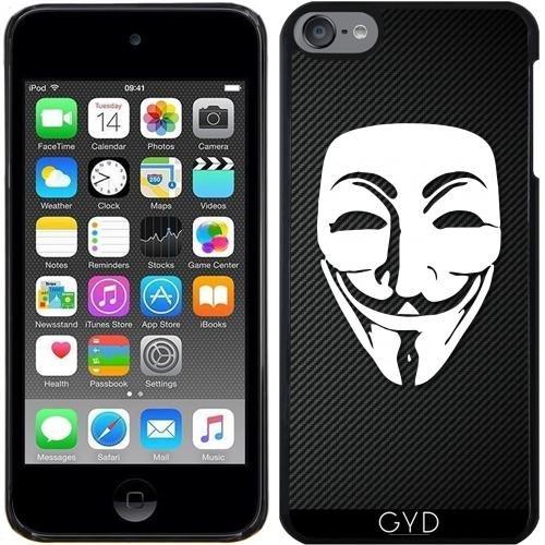 Hülle für Ipod Touch 6 - Anonymous Kohlefaser by Spycker (4 Fällen Ipod Kohlefaser)