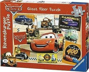 Ravensburger Disney Cars - Puzzle Gigante (24 Piezas)