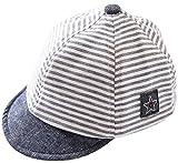 Fancyland Chapeau Bébé Casquette de BaseballAnti-Soleil Souple Outdoor Stripes