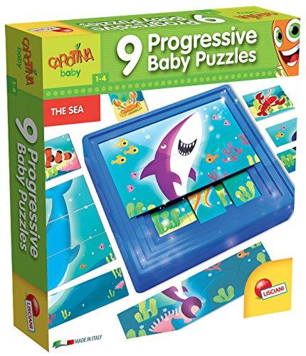 lisciani-giochi-58457-carotina-baby-progressive-puzzle-the-sea