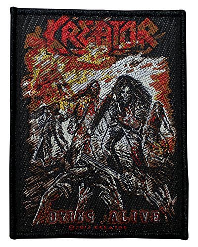 Kreator toppa Dying Alive Patch in tessuto 8x 10cm
