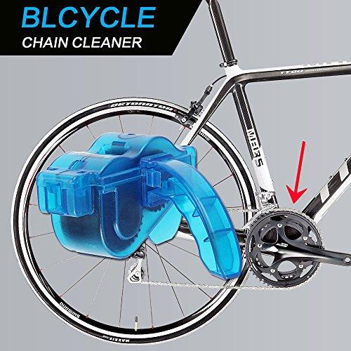 Mture Fahrrad Kettenreinigungsgerät Cycling Bike Bicycle Chain Cleaner – Blau - 2