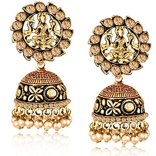 Meenaz Temple Jewellery Wedding Bridal Gold Pearl Kundan