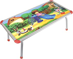 Archana NHR Kids Multipurpose Bed Table with Foldable Legs, 66x33x26cm (Multicolour)