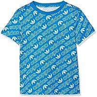 adidas DN8146 Camiseta, Niños, Azul (Bluebird) / Blanco, 164 (13/14 Años)