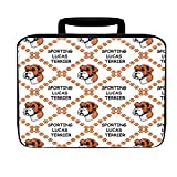 Sporting Lucas Terrier Dog Paws Insulated Lunch Box Bag