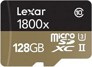 Lexar Professional 1800 X Microsdxc 128gb Uhs I Ii W Computers Accessories