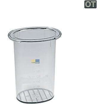 Bosch Siemens 621924 00621924 ORIGINAL Stopfer Stössel Einfüllstutzen z.T. MCM12 MCM2 MK1 MK2 MK7 MUM4 MUM5 MUM6 MUM7 MUM8 MUMV MUMX Küchenmaschine Durchlaufschnitzler auch 00055879 00059052 00065397