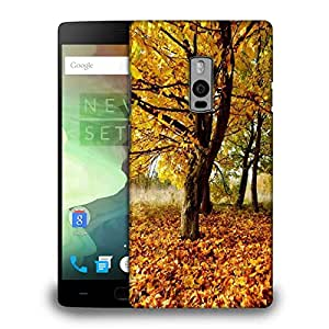 Snoogg Leavy Ground Designer Protective Phone Back Case Cover for OnePlus Two