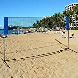 Best Volleyball Nets - PURLOVE® Large Adjustable Height Foldable Badminton Tennis Volleyball Review