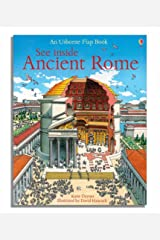 See Inside Ancient Rome (Usborne Flap Books) Hardcover