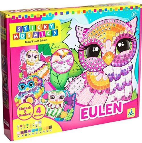 Sticky Mosaics Owls, Farblich Sortiert ()