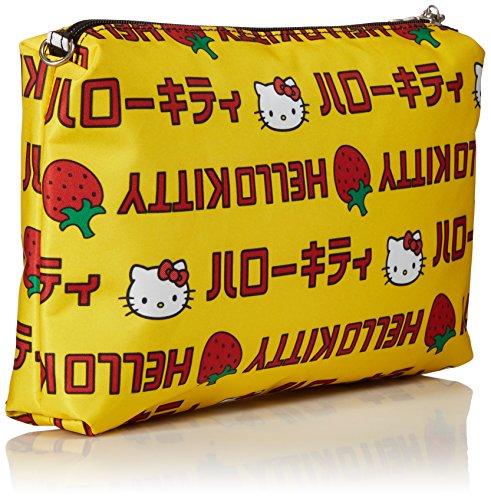 Ju-Ju-Be 14AA01HK-HSS-NO SIZE Be Quick Hello Kitty - Wickeltasche, klein, 29 x 3.5 x 18 cm, Strawberry Stripes Strawberry Stripes
