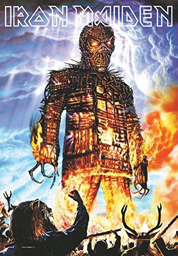 Iron Maiden-Bandiera Poster Bandiera Wicker Man