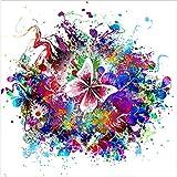 Design Twist qu/314/C Color Glass Impression sur Verre, Animaux, Verre, Multicolore, 60x 60x 2.6cm