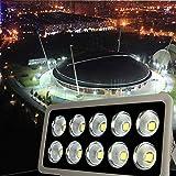 JADIDIS 500W COB LED Flutlicht 10 Chip Strahler Super Hell 50.000lm Outdoor Sicherheit Lampe für...