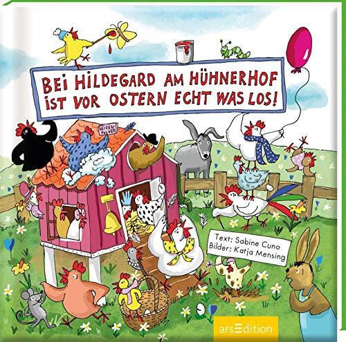 Bei Hildegard am Hühnerhof ist vor Ostern echt was los! (Hildegard, das dicke Huhn)