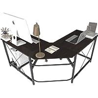soges Eckschreibtisch Computertisch Gaming Tisch Mit L-Form Winkelschreibtisch großer Gaming Schreibtisch Bürotisch…