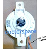 doctorspare Washing Machine Spin Timer Compatible with LG, 2 Wire/5 Minutes