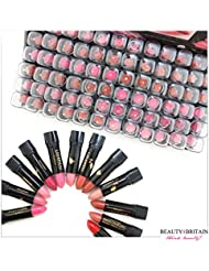 72 x LIPSTICK SET MANY DIFFERENT SHADES FULL SIZE Vitamin A&E WHOLESALE UK