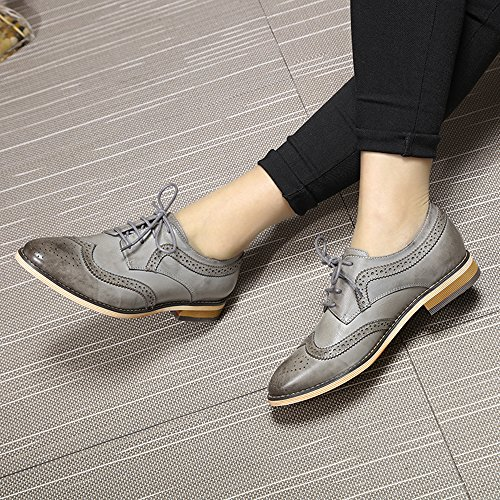 Mona Flying Low Chaussures Femme Gris