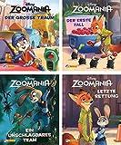 Nelson Mini-Bücher: 4er Disney Zoomania 1-4