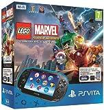 Console Playstation Vita Wifi + jeu à télécharger Légo Marvel Super Heroes (PS Vita) + Carte Mémoire 4 Go