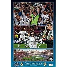 Grupo Erik Editores   Poster Real Madrid La Decima