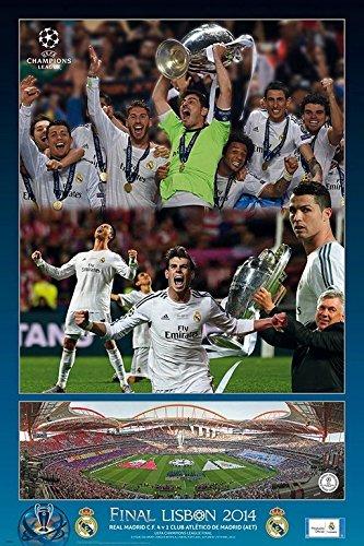 Grupo Erik Editores Real Madrid La Decima – Poster,