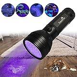 DaskFire 51 UV-Taschenlampe LED-Standard-Taschenlampen Haustiere Urin-Licht-Detektor f¨¹r Hund Urin, Haustier Flecken, Bettwanze auf Teppich/Teppiche / Boden