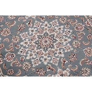 Alfombra Oriental Persa Diseño Clásico Azul Tamaño S-XXXL (200 x 300 cm)