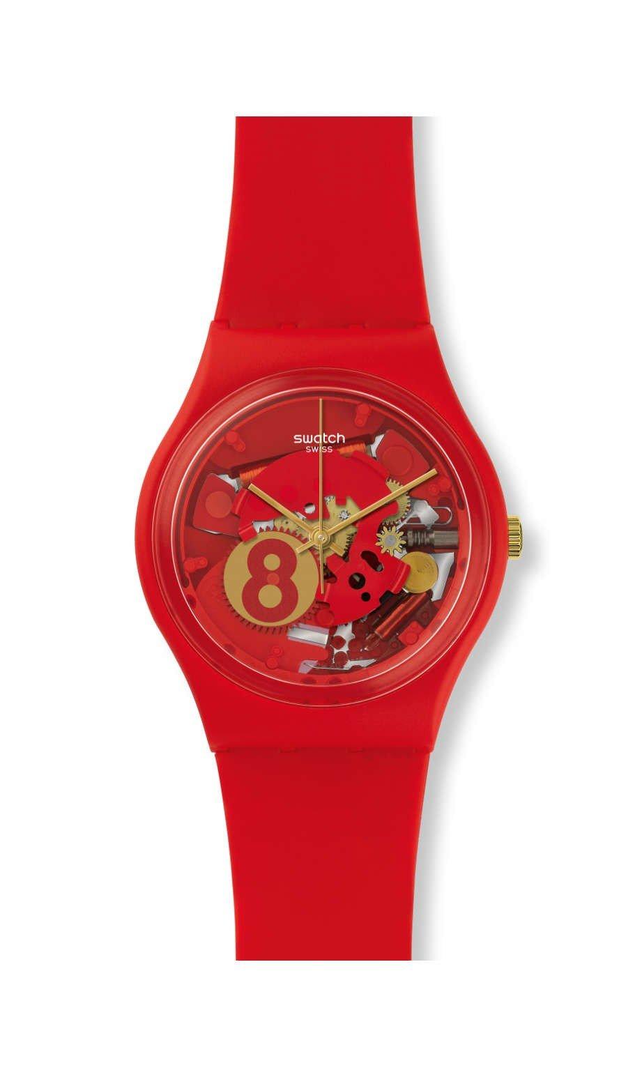 Swatch Ocho para suerte Reloj gr166