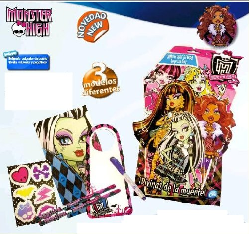 WDK Partner - A1301781 - Fournitures scolaires - Pochette surprise Monster High