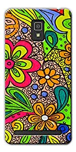DigiPrints High Quality Printed Designer Soft Silicon Case Cover For Lenovo A6600