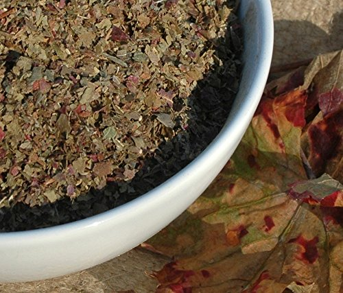 Naturix24 – Weinblättertee, Weinblätter rot geschnitten - 250g