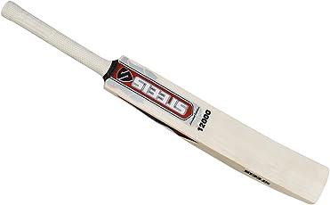 STEELS 12000 Grade 1 English Willow Cricket Bat (Short Handle, 1 kg)
