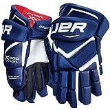 Bauer Vapor X800 Handschuhe Junior, Größe:11 Zoll;Farbe:blau